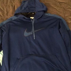 Nike royal blue therma-fit hoodie size XL NWOT